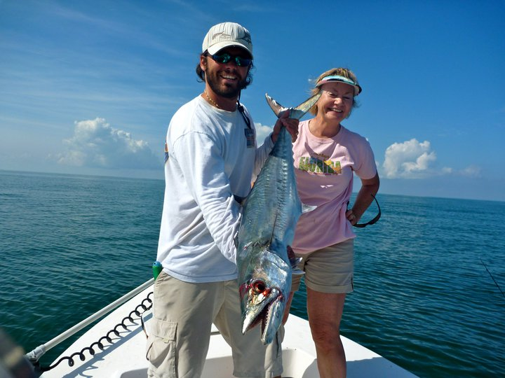 Clearwater beach fishing charters kingfish sharks and for Clearwater charter fishing