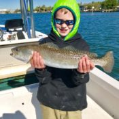 A picture of Home on one of our St. Petersburg Fishing Charters