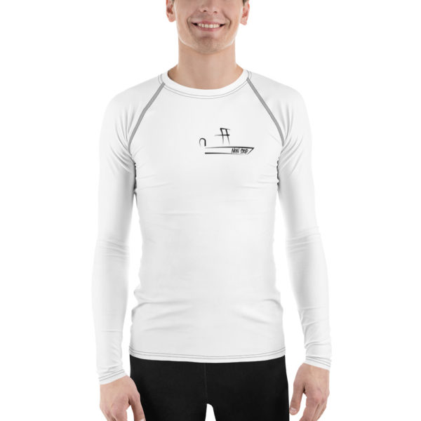 A picture of Men's Rash Guard on one of our St. Petersburg Fishing Charters