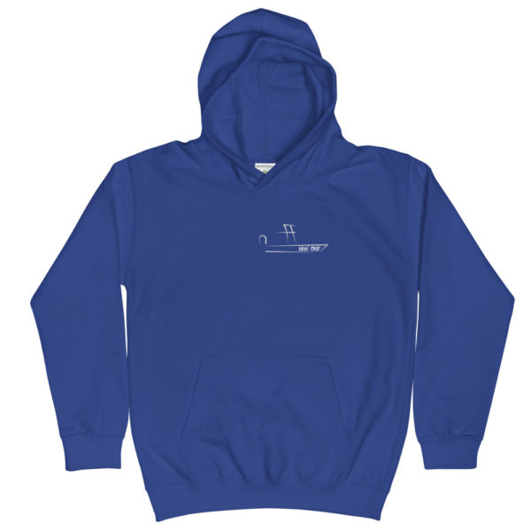 A picture of Kids Hoodie on one of our St. Petersburg Fishing Charters