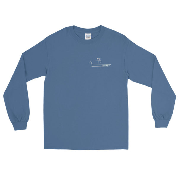 A picture of Men's Long Sleeve Shirt on one of our St. Petersburg Fishing Charters