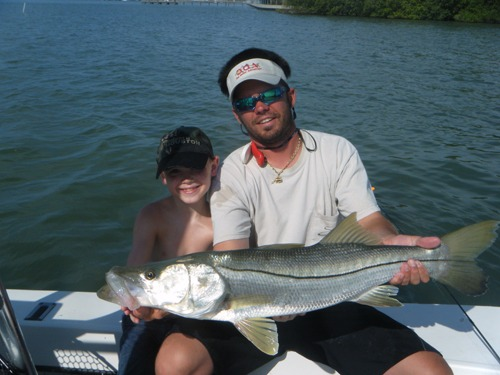 A picture of Inshore Fishing on one of our St. Petersburg Fishing Charters
