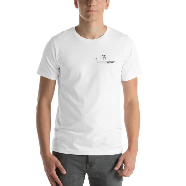 A picture of Short-Sleeve Unisex T-Shirt on one of our St. Petersburg Fishing Charters